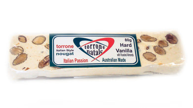 Hard Vanilla Nougat Bar