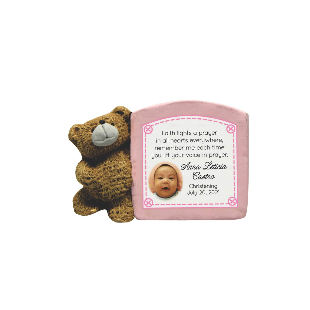 Bear Personalized Message Signboard