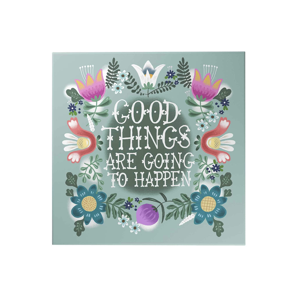 Affirmation Decoposter: Good Things