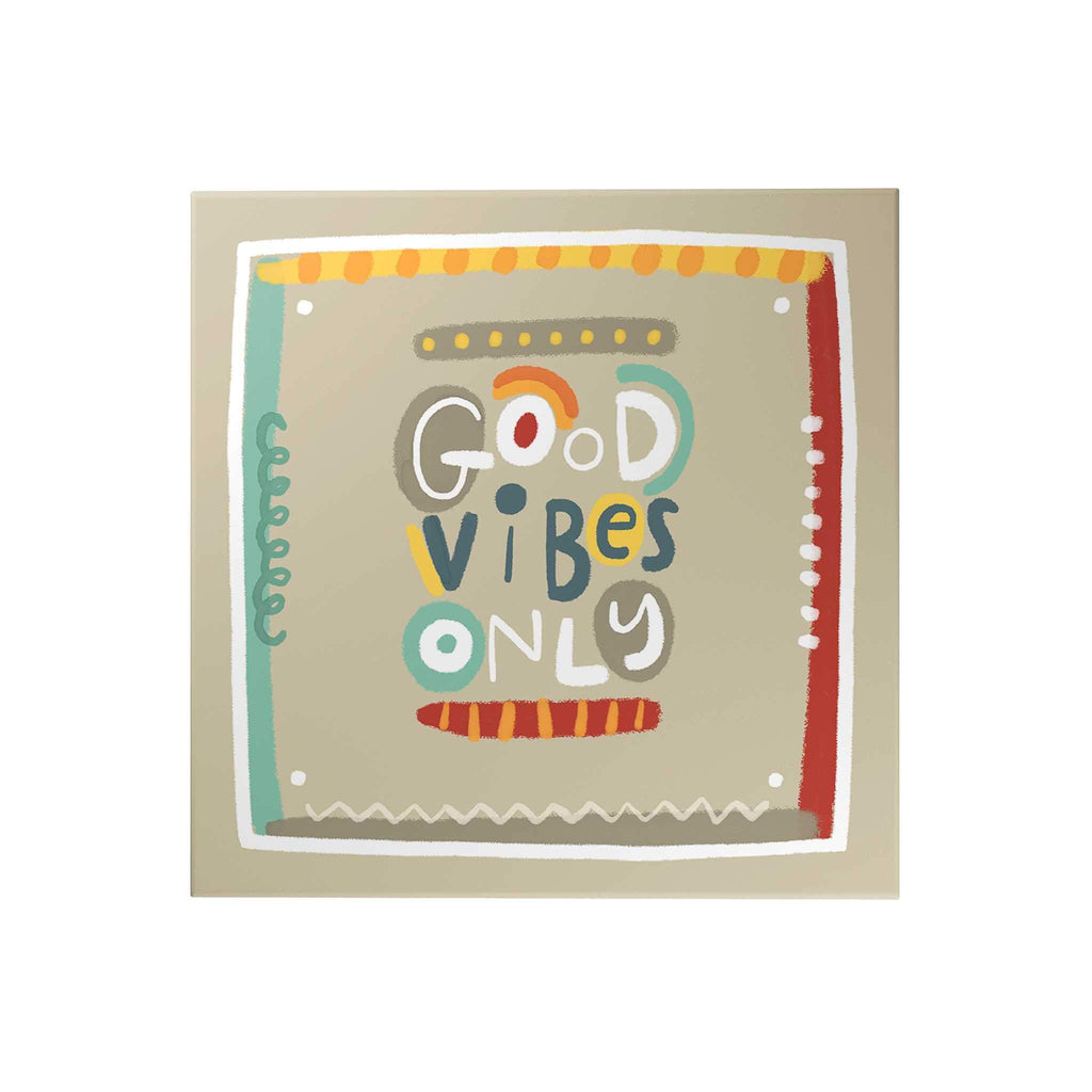 Affirmation Decoposter: Good Vibes Only