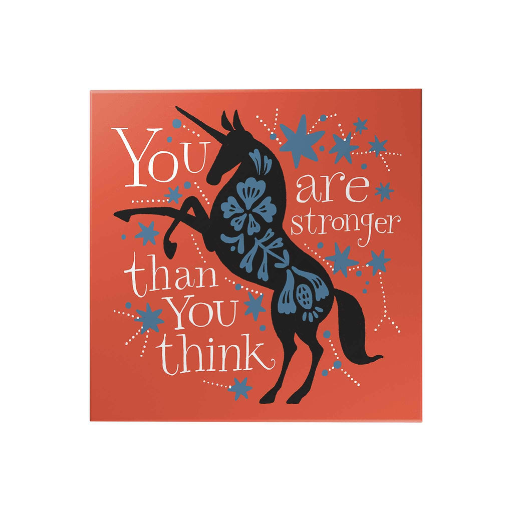 Affirmation Decoposter: You Are Stronger