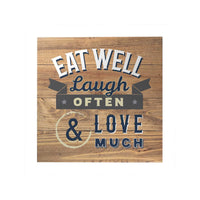 Happy Home Decoposter: Eat Well