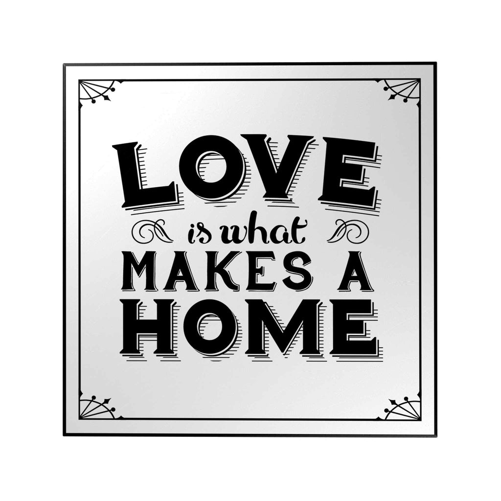 Love Is What Makes a Home Decoposter