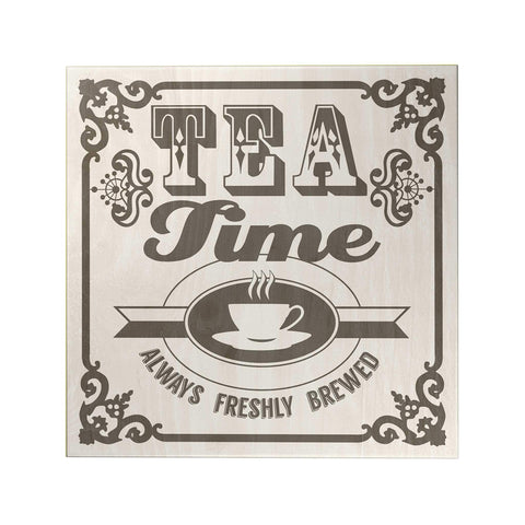 Tea Time Decoposter