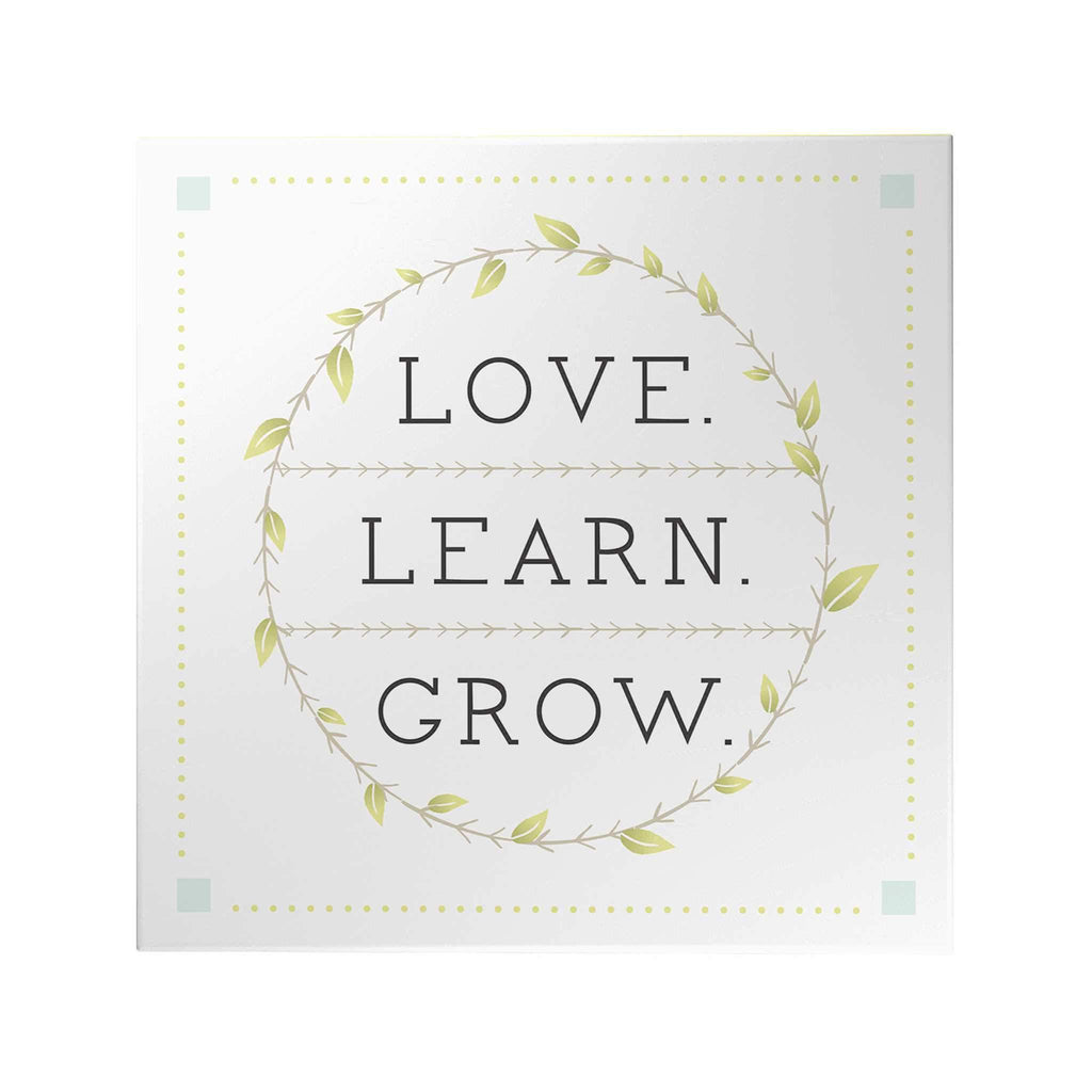 Love Learn Grow Decoposter