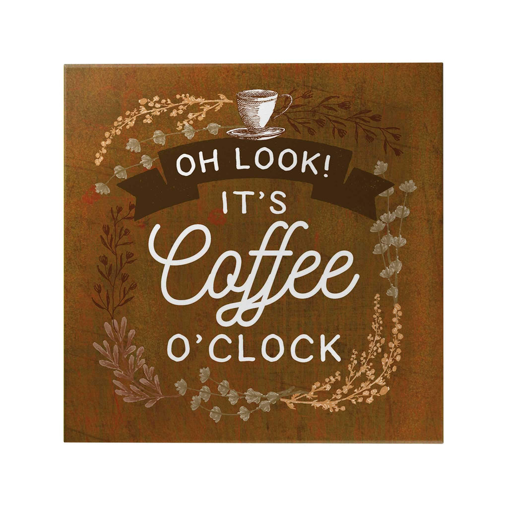 It's Coffee O'Clock Decoposter