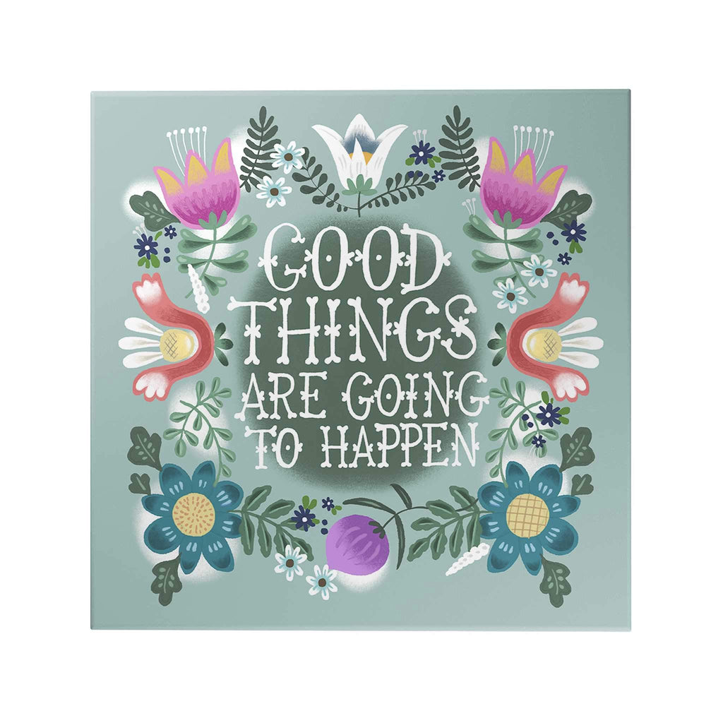 Affirmation Decoposter: Good Things Decoposter