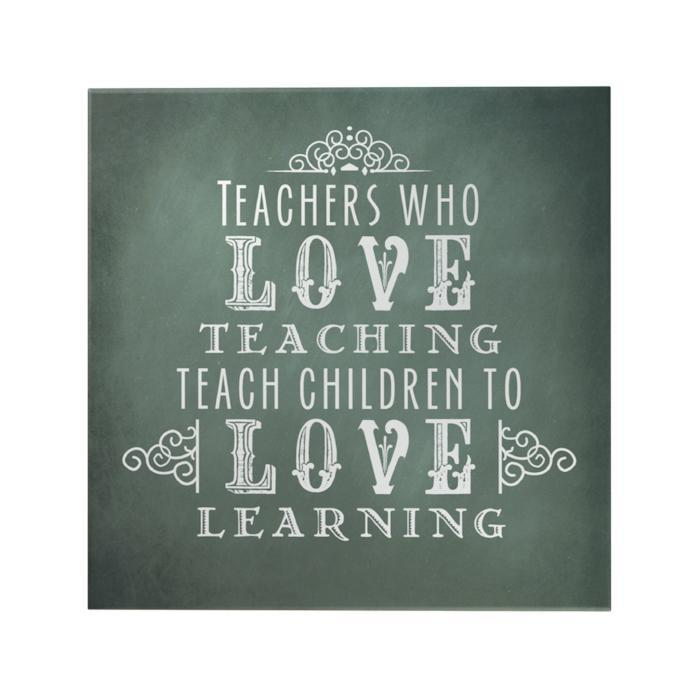 Teachers Who Love Teaching Decoposter