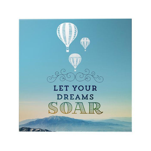 Let Your Dreams Soar Decoposter