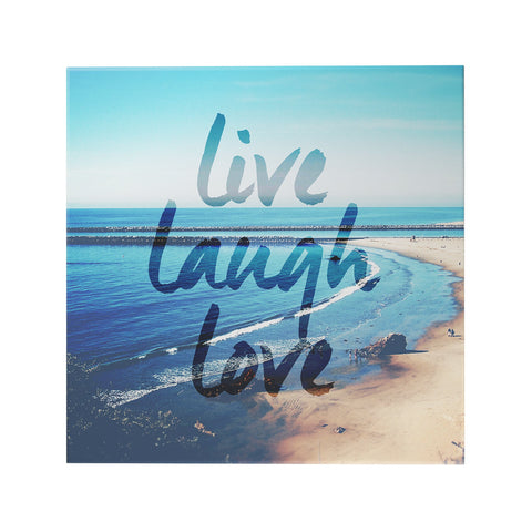 Live Laugh Love Decoposter