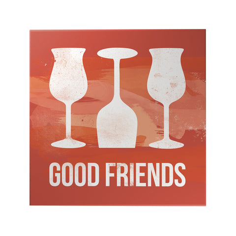 Good Friends Decoposter