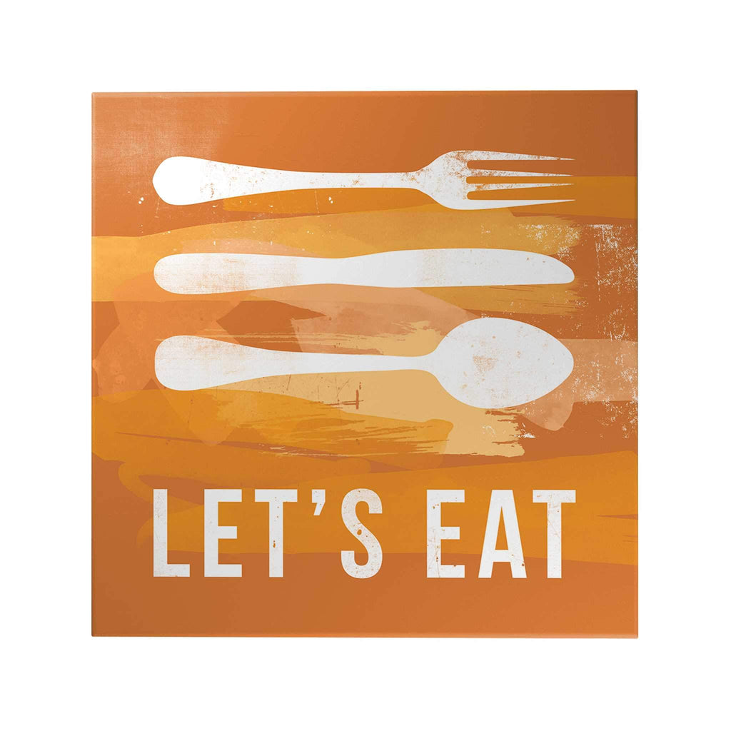 Let's Eat Decoposter