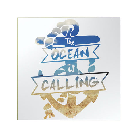 The Ocean is Calling Decoposter