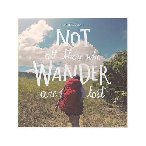 Not All Those Who Wander Decoposter