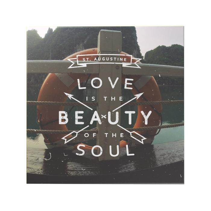 Love Is The Beauty Of The Soul Original Inspirational Poster