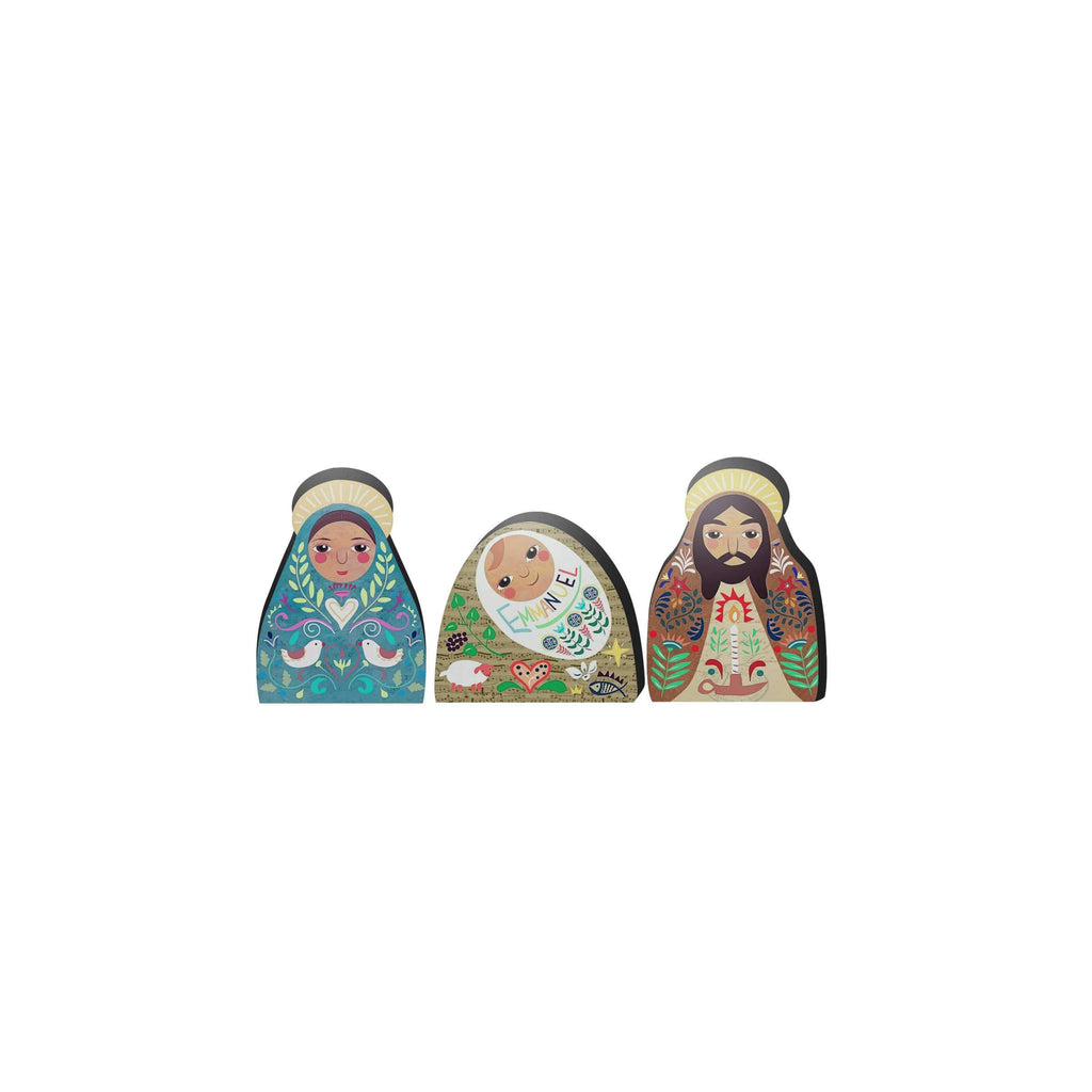 Naif Holy Family Nativity Set