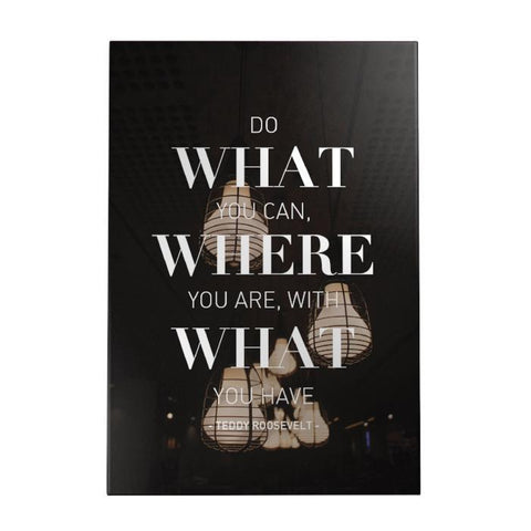 Do What You Can Decoposter