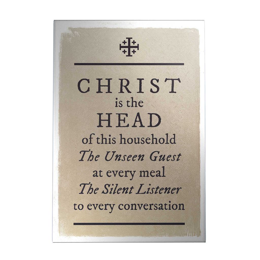 Christ Is the Head Decoposter