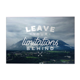 Leave Your Limitations Behind Decoposter