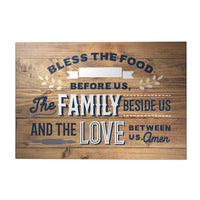 Happy Home Decoposter: Bless the Food