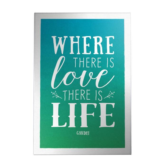 Where There Is Love Decoposter