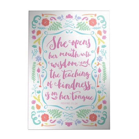 Proverbs 31 Decoposter