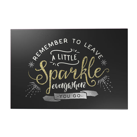 Leave a Little Sparkle Decoposter