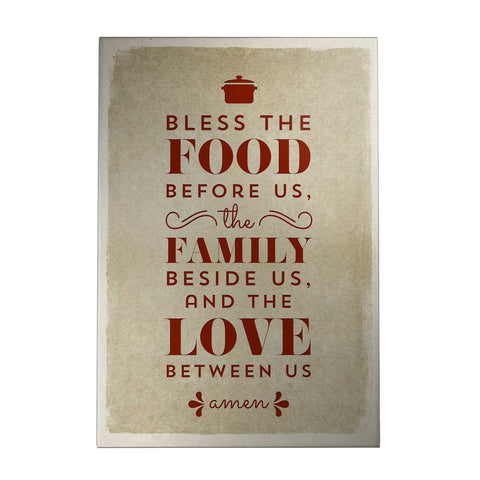 Bless the Food Decoposter