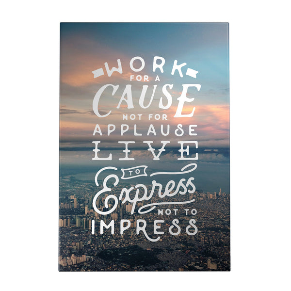 Work for a Cause Decoposter