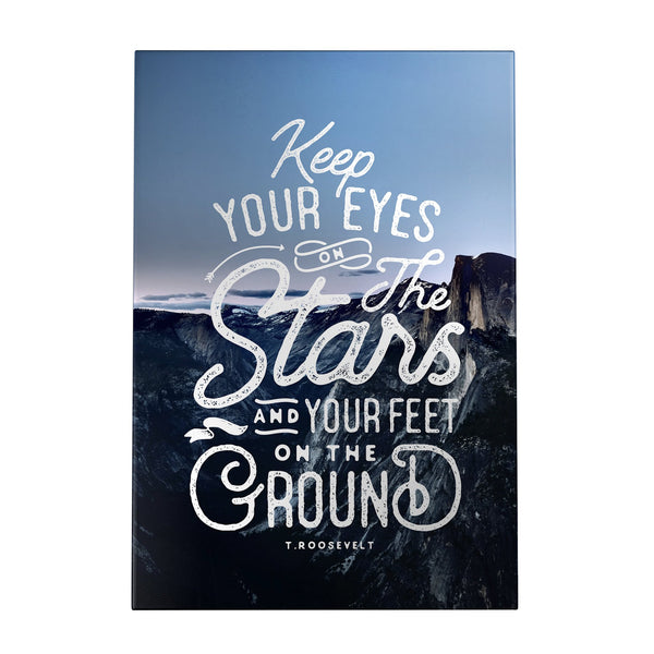 Keep Your Eyes on the Stars Decoposter