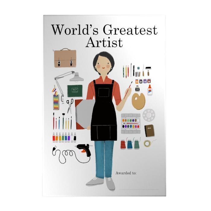 World's Greatest Artist Decoposter: Female