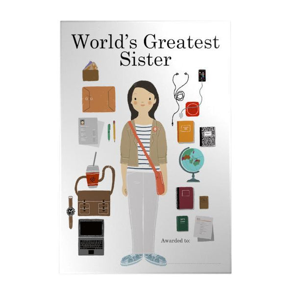 World's Greatest Sister Decoposter