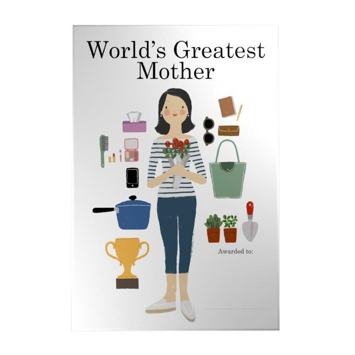 World's Greatest Mother Decoposter