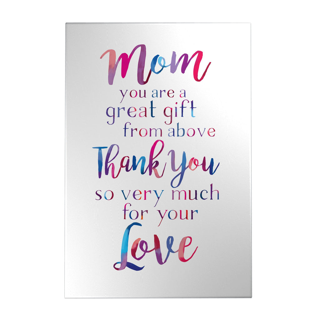 Mom You Are a Great Gift Decoposter