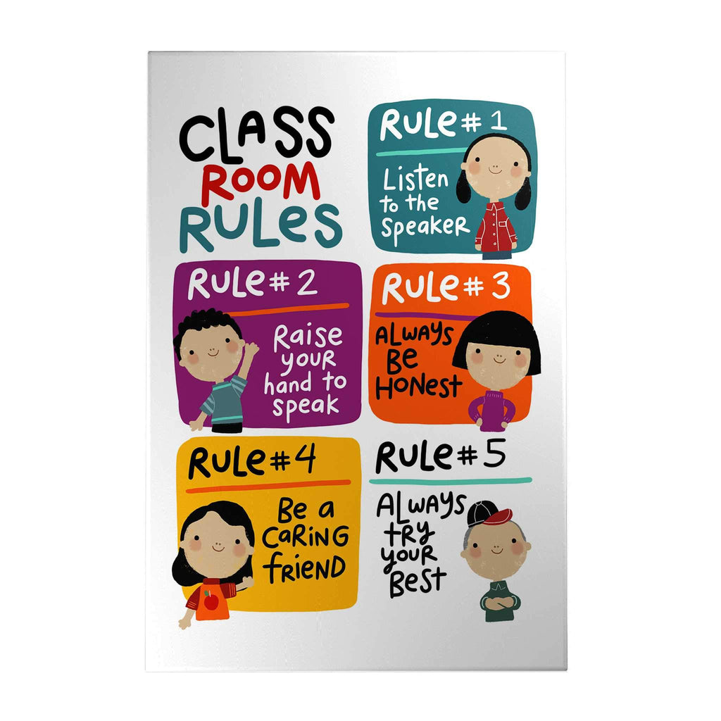 Classroom Rules Decoposter