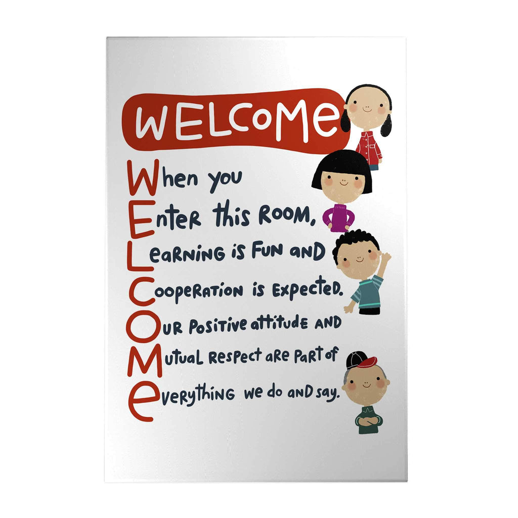 Welcome Decoposter