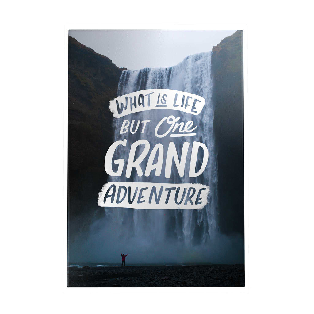 Grand Adventure Decoposter: What Is Life