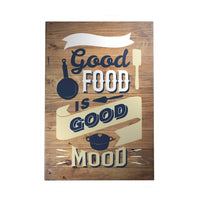 Happy Home Decoposter: Good Food Is Good