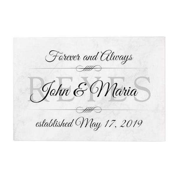 Forever and Always Personalized Decoposter