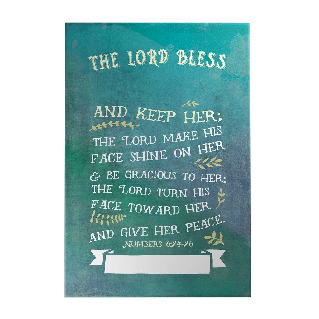 The Lord Bless and Keep Them Personalized Decoposter