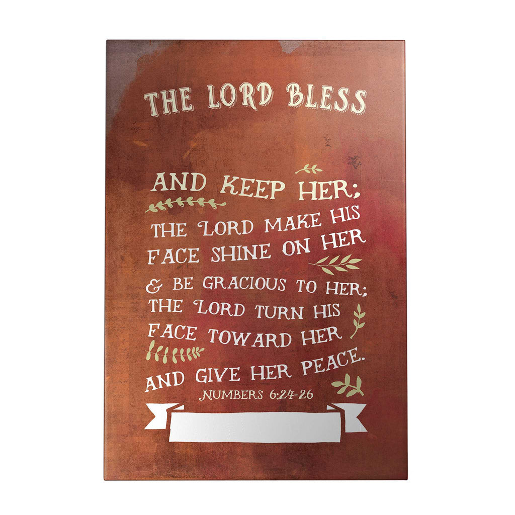 The Lord Bless and Keep Her Personalized Decoposter