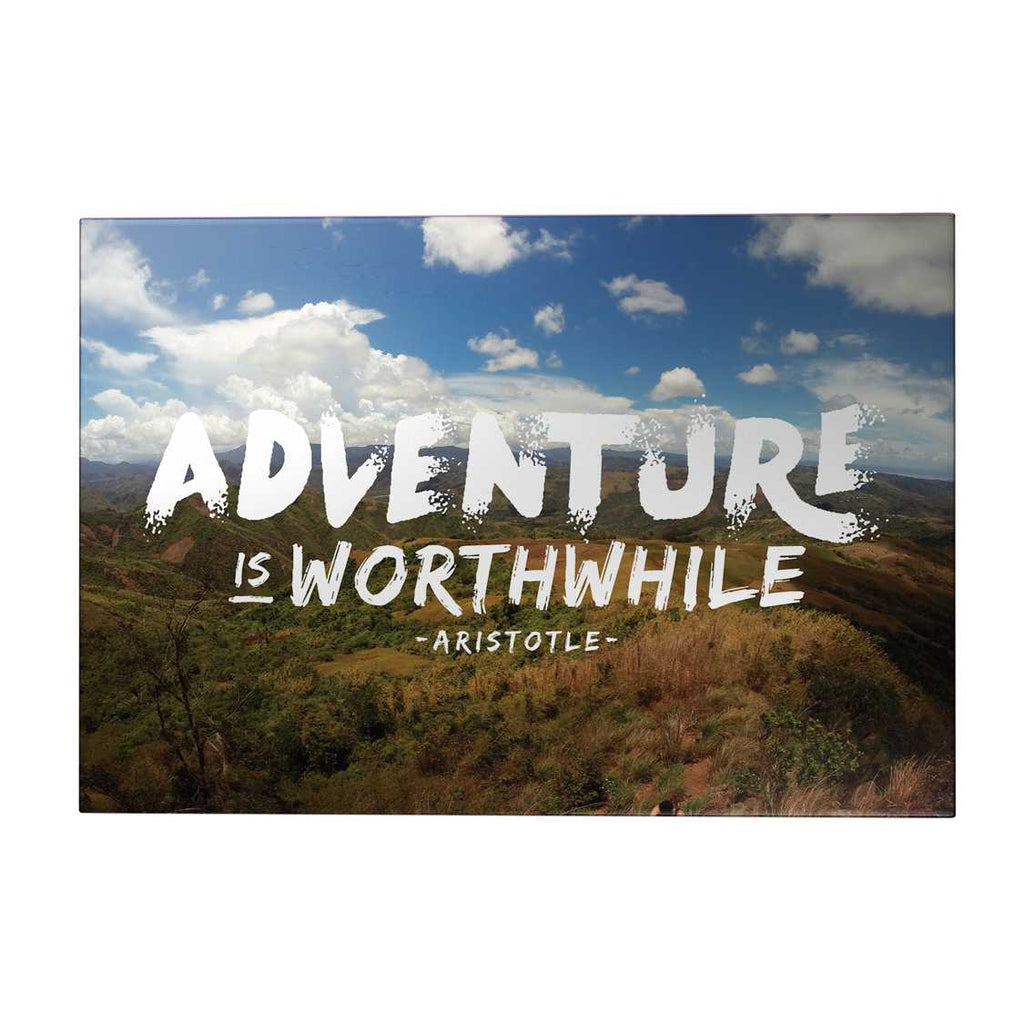 Adventure is Worthwhile Decoposter