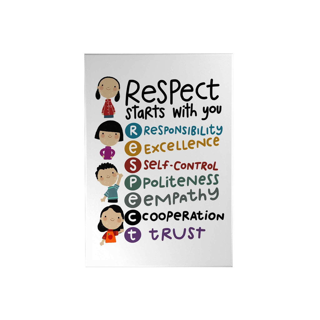 Respect Start with You Decoposter