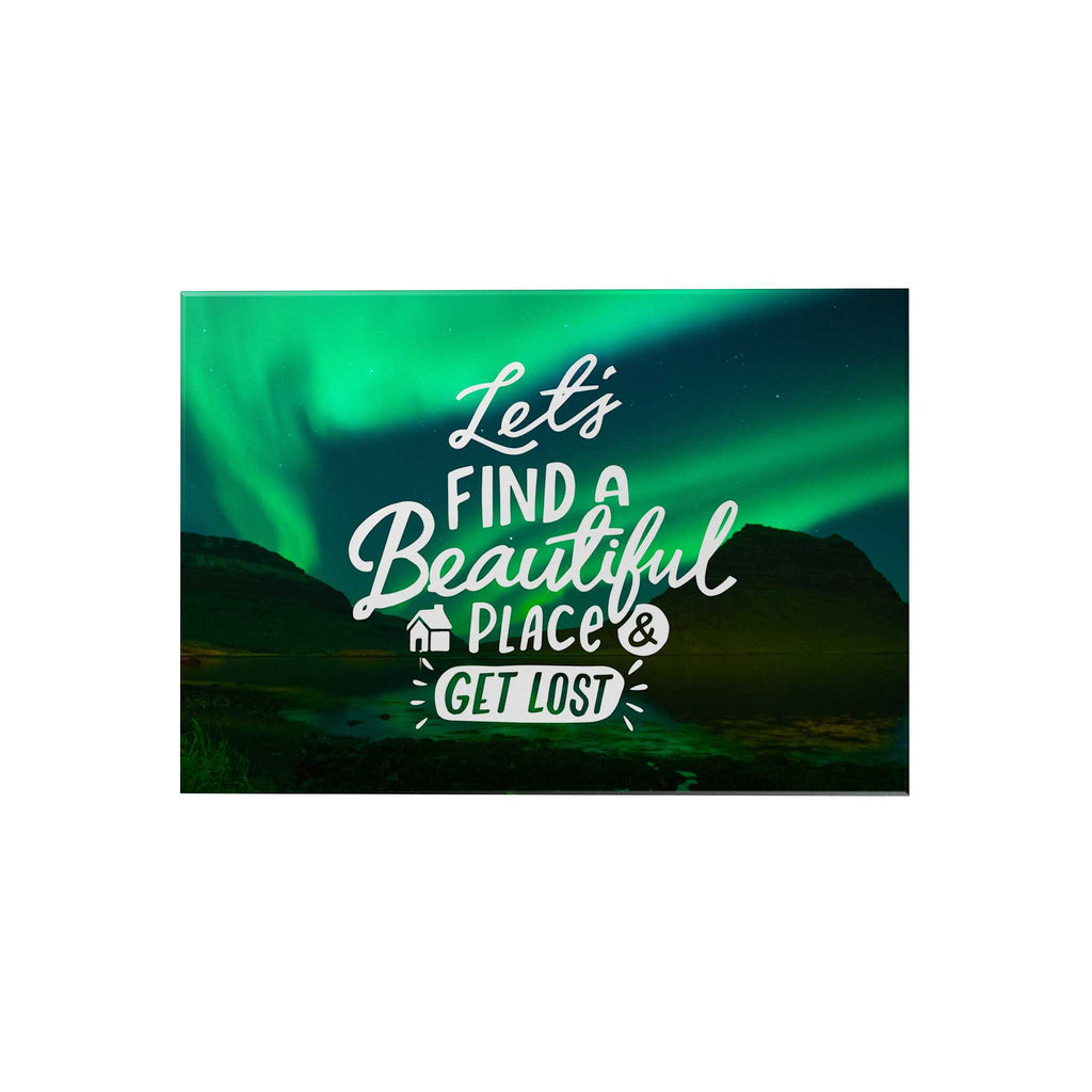 Grand Adventure Decoposter: Let's Find a Beautiful Place