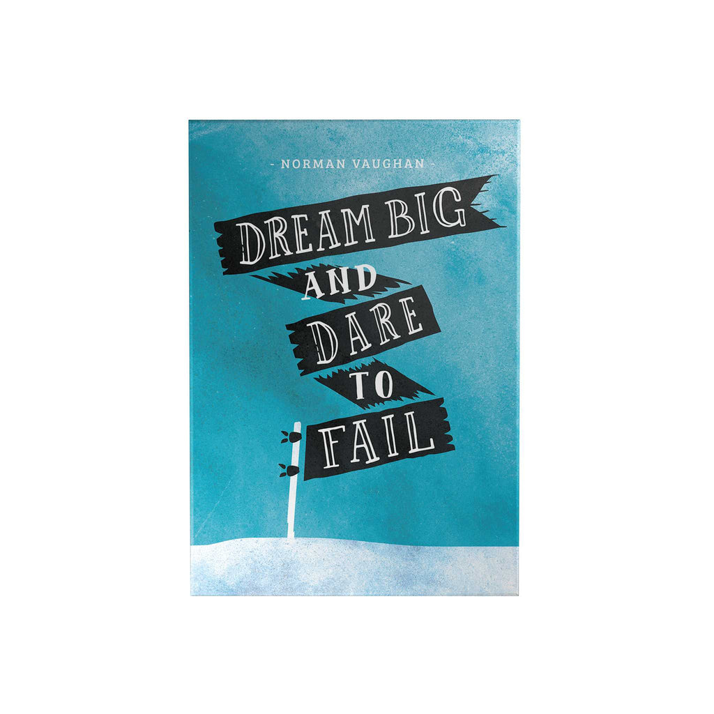 Dream Big and Dare to Fail Decoposter