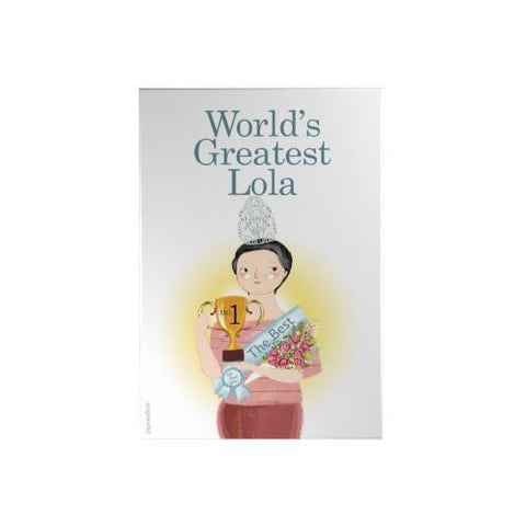 World's Greatest Lola Decoposter