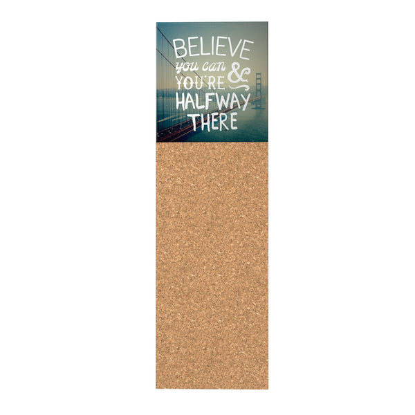 Believe You Can Corkboard