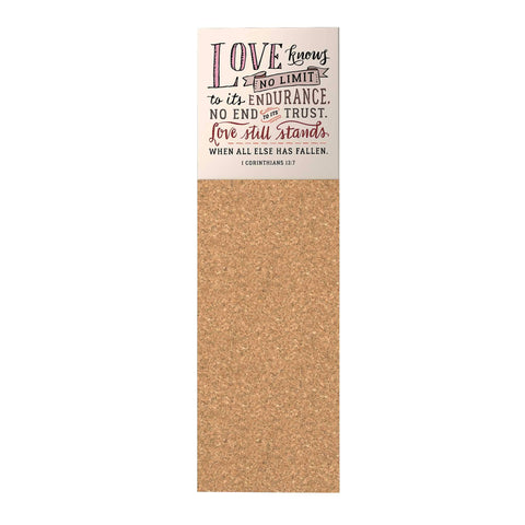 Words of Love Corkboard: Love Knows No Limit