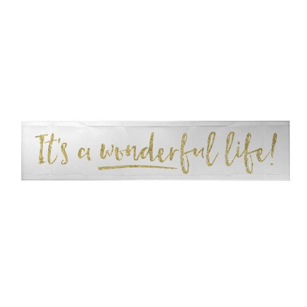 Its a Wonderful Life Long Decoposter