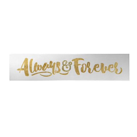 Always and Forever Long Decoposter